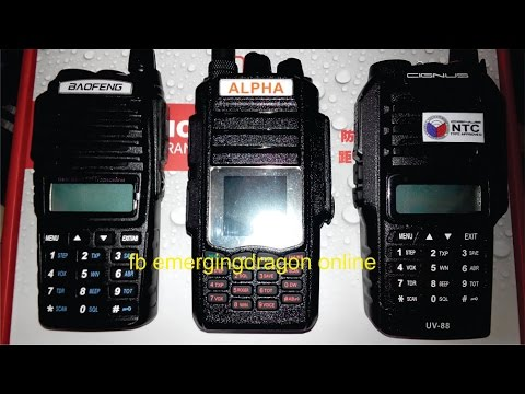 Got Baofeng ? New Alpha AP58 Ham Radio 12 Watts Dual Bander