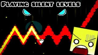 Geometry Dash: playing silent levels