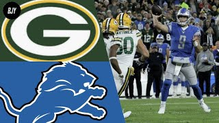 Packers vs Lions Week 6 Highlights | NFL 2019 (14/10/2019)