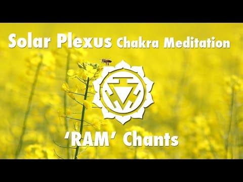 Magical Chakra Meditation Chants for Solar Plexus Chakra | RAM Seed Mantra Chanting and Music
