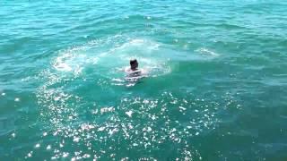 Прыжок с трамплина в воду