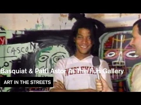 Patti Astor, Fab 5 Freddy, Jean Michel Basquiat- Art in the Streets - MOCAtv Ep. 18
