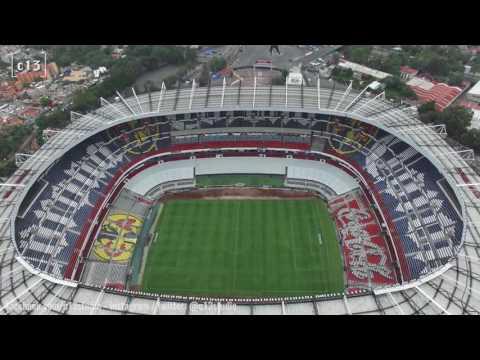 Volando sobre México en Drone | 19 - Estadio Azteca