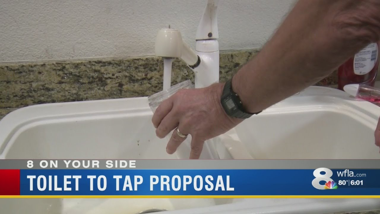 Tampa considers plan to add waste water to drinking water supply