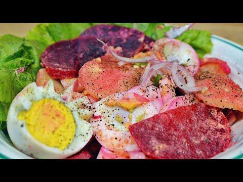 [Mauritian Cuisine] Beet, Eggs And Potato Salad | Salade De Betteraves