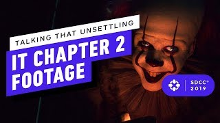 Talking That Creepy, Scary and Unsettling IT Chapter 2 Footage - IGN Live at Comic Con 2019