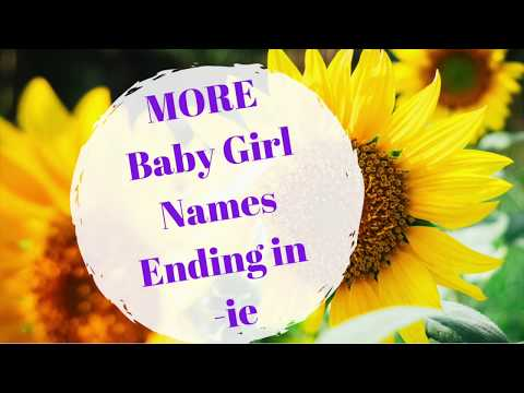 300 Popular Baby Names Ending inside a, N, and Y