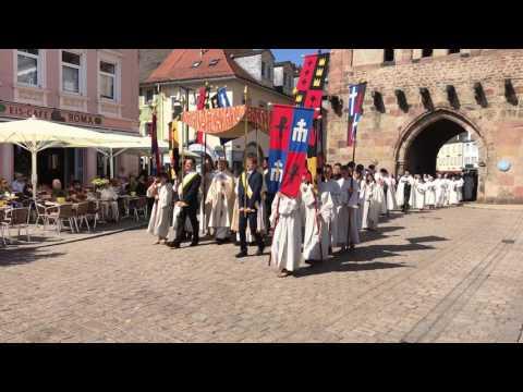 Videoimpressionen Fronleichnam 2017, Speyer Germany