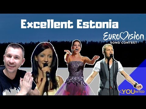 Estonia in Eurovision: All songs from 1994-2018 - Reaction