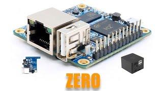 Orange Pi Zero Part1 Распаковка, запуск, сборка.