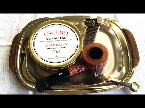 """Pipe Tobacco Review: Escudo """"Navy De Luxe"""""""