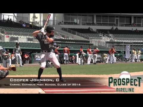 Cooper Johnson Prospect Video, C, Carmel Catholic High School Class of 2016