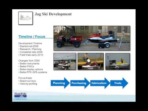 Jag Ski Creates Versatile Platform for Bay Study (SonTek HydroSurveyor)