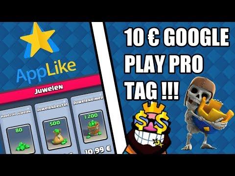 10€ GOOGLE PLAY GUTHABEN PRO TAG/App Like Hack || Ungeclasht TV