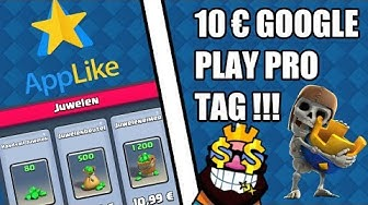 10€ GOOGLE PLAY GUTHABEN PRO TAG/App Like Hack || Ungeclasht TV