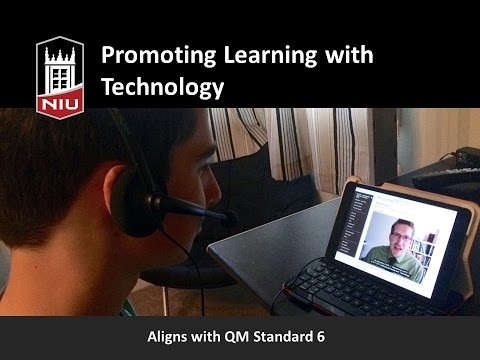 Quality Online Course Series: Promoting Learning with Technology