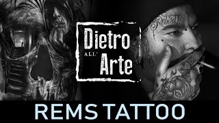 Dietro all'arte di Rems Tattoo by Serink