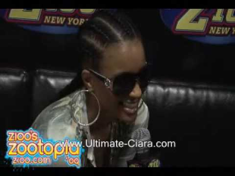 Ciara Interview Backstage At Zootopia 2009