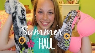 HUGE Summer Haul ❁ H&M, PINK, VS, TJ Max & More! Thumbnail