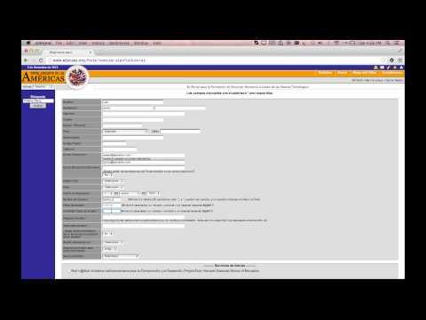Cómo registrarse en el Portal Educativo de las Américas