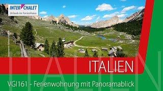 VGI161 - Ferienwohnung mit Panoramablick, St. Vigil, Dolomiten, Südtirol, Italien