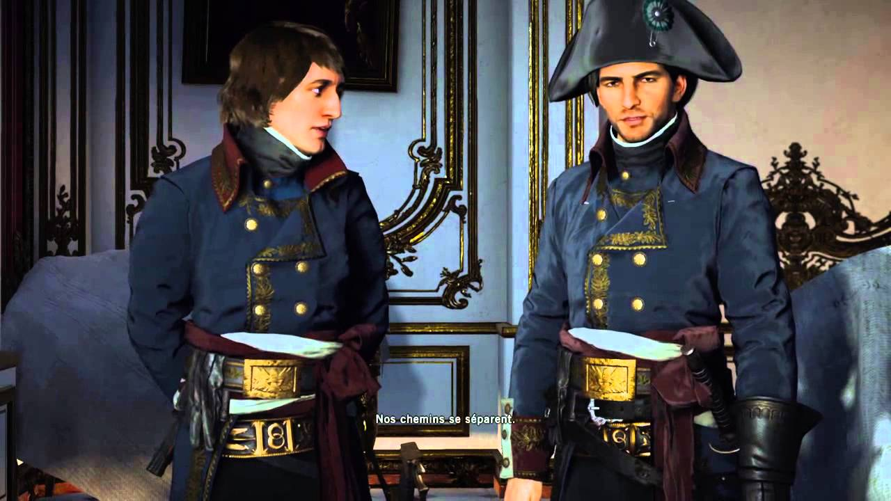 Assassins Creed Unity Napoleon And Napoleon Arno Youtube