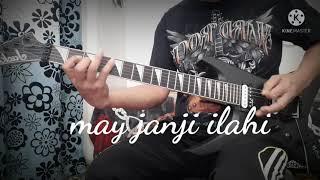 MAY  janji ilahi guitar cover solo