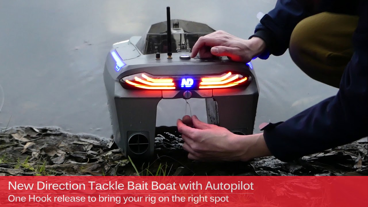 6H RunTime  Futterboot BaitBoat Karpfenboot 2.4GHz Radio with Lithium Batteries