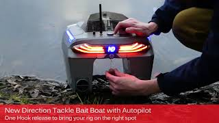 New Direction Tackle Bait Boat With Autopilot