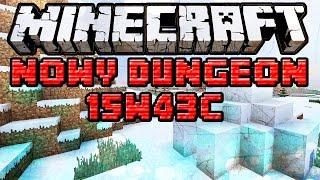 Minecraft 15W43C [ PL ] NOWY DUNGEON: IGLO! Napisy i Komenda!