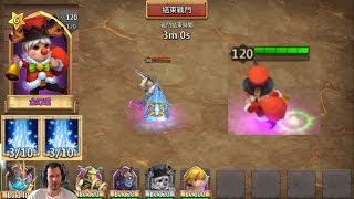 new hero insane freeze ability gameplay hbm archdemon dungeons castle clash