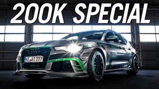 DEINE FAHRT IM RS6-E   200K SPECIAL!   Daniel Abt