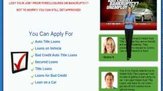 Auto Title Loans California | Your Best Option Is Here! thumbnail