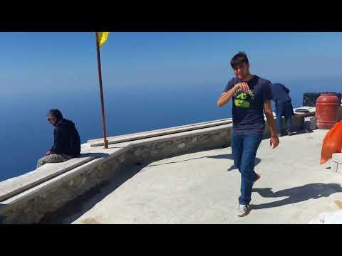 Filmare pe vârful Muntelui Athos de hramul Schimbării la faţa 2017
