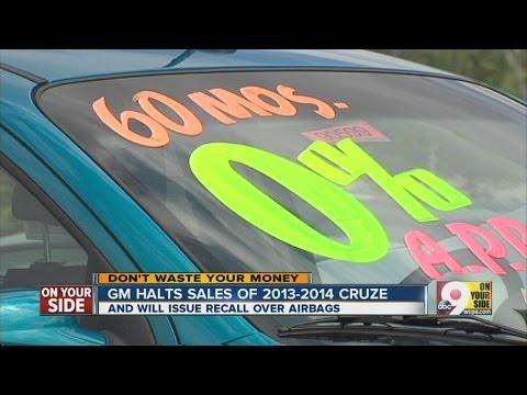 GM halts sales of 2013-2014 Cruze