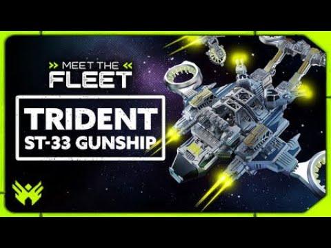 Trident ST-33 Gunship