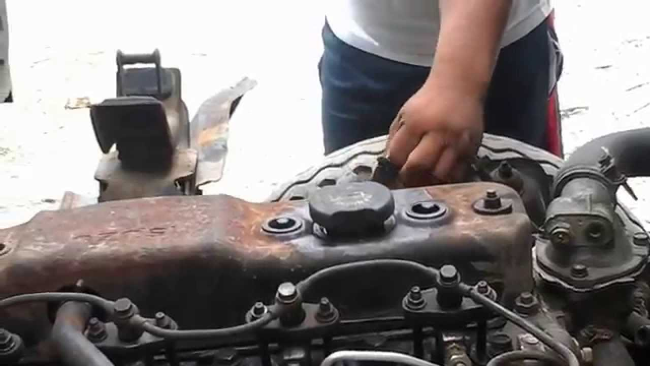 probando el motor del isuzu 4bd1 youtube rh youtube com 2017 Isuzu Trooper Isuzu Hombre