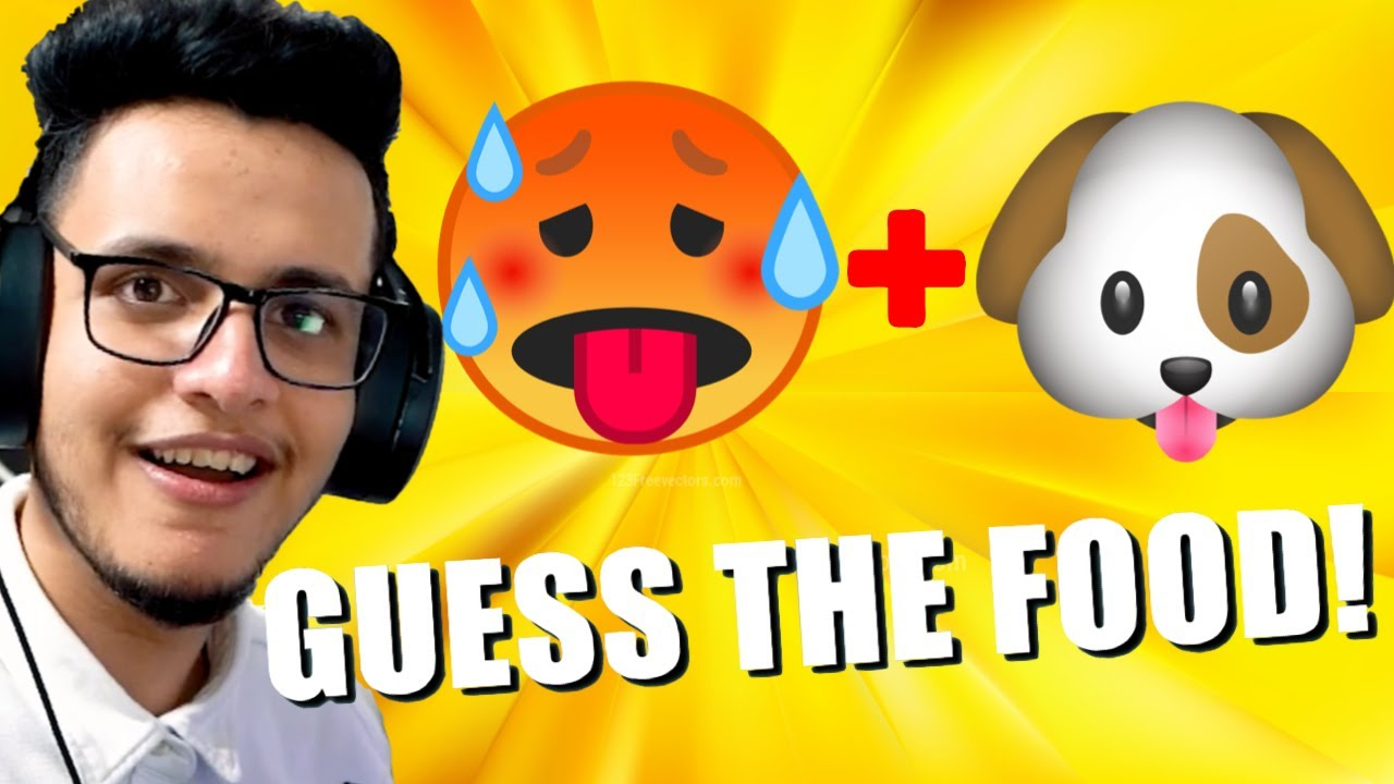 Guess The Food by Emojis Challenge