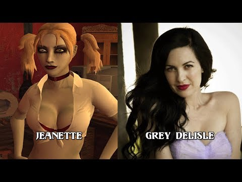Characters and Voice Actors - Vampire: The Masquerade -- Bloodlines