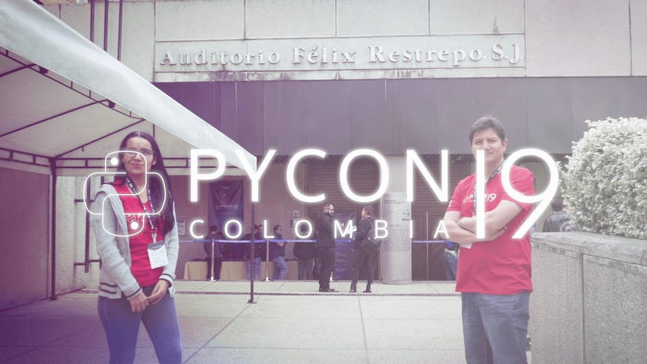 Image from Aftermovie 2019 - Pycon Colombia 2019