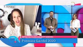 Naty Medina: Premios Gardel 2020