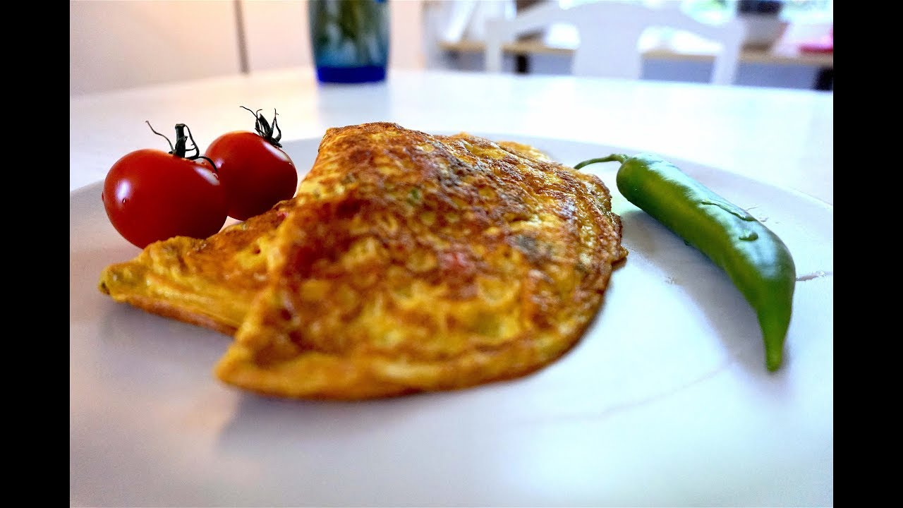 Omelette Recipe How To Make Fusion Omelette Easy Spicy Omelette