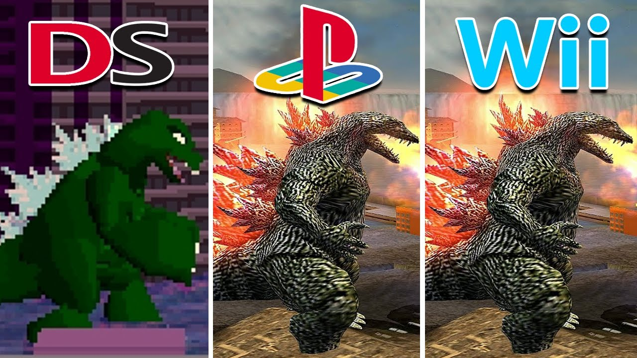 Godzilla Unleashed (2007) NDS vs PS2 vs Wii (Which One is Better?)
