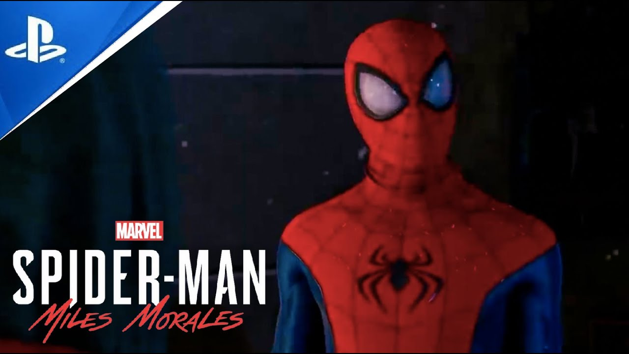 Miles gets his First Suit Scene - Spider Man: Miles Morales [PS5]
