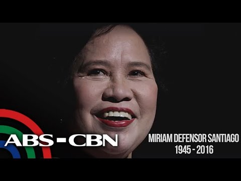 News Patrol: Senator Miriam Defensor-Santiago passes away at 71