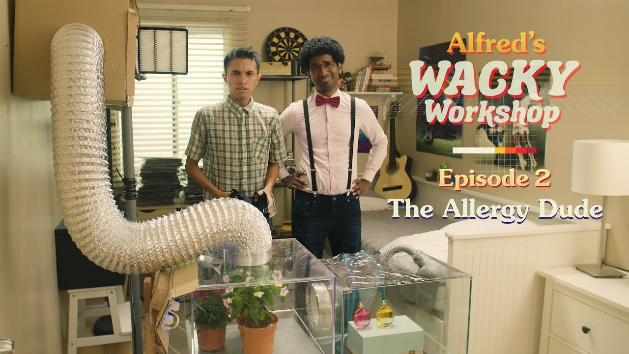"The Allergy Dude | ""Alfred's Wacky Workshop"" EP2"