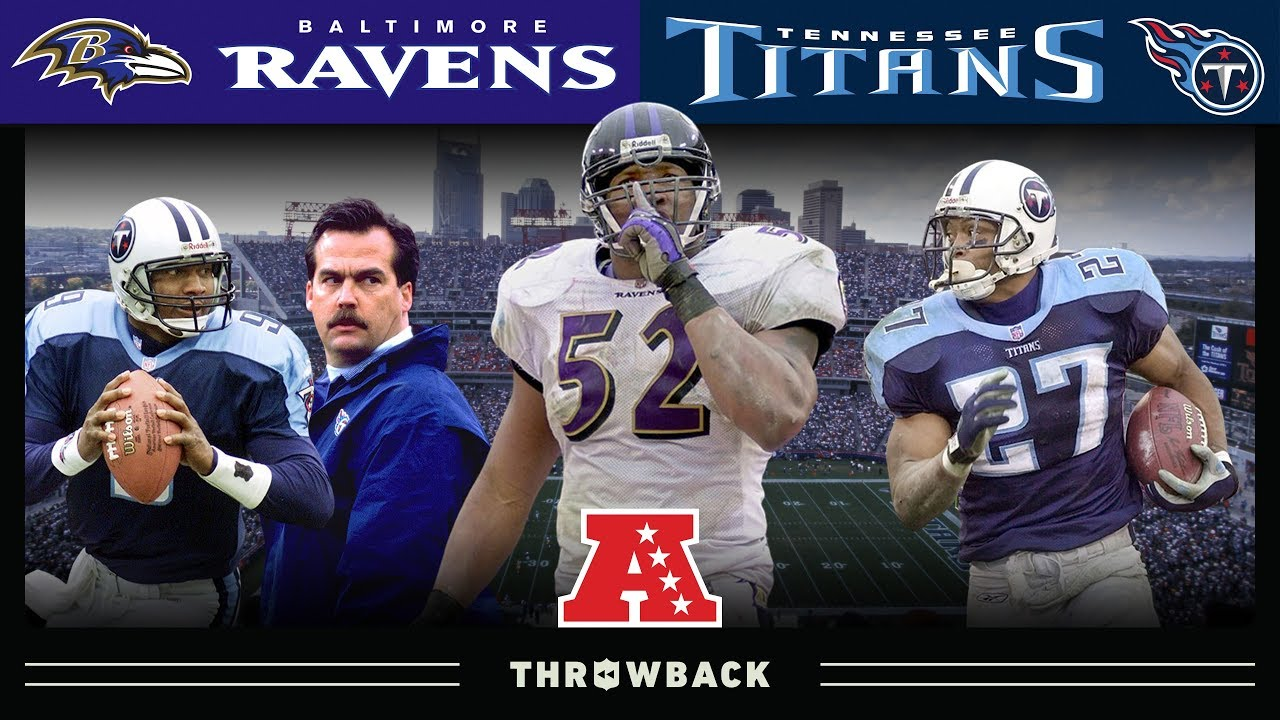 Ray Lewis Silences Nashville Ravens Vs Titans 2000 Afc Divisional Nfl Vault Highlights Youtube