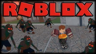 Playing Roblox-SwordBurst 2-Online RPG with Dungeons, Goblins and Orcs!!