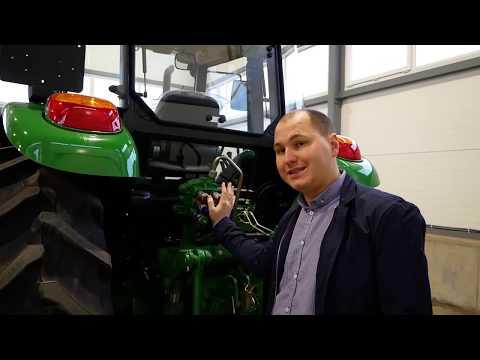 Обзор трактора John Deere 6110B