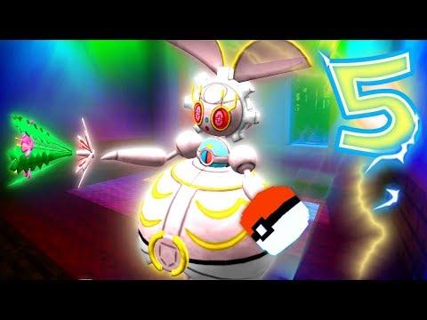 """Minecraft Pixelmon Lucky Block Island - """"MAGEARNA'S METAL MANSION!"""" - (Minecraft Pokemon Mod)"""